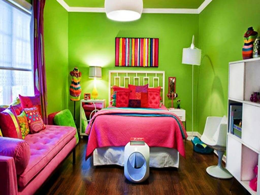 Colorful Wall Designs for Teen Rooms