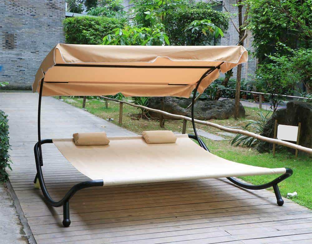 Double Sun Loungers for porch Idea