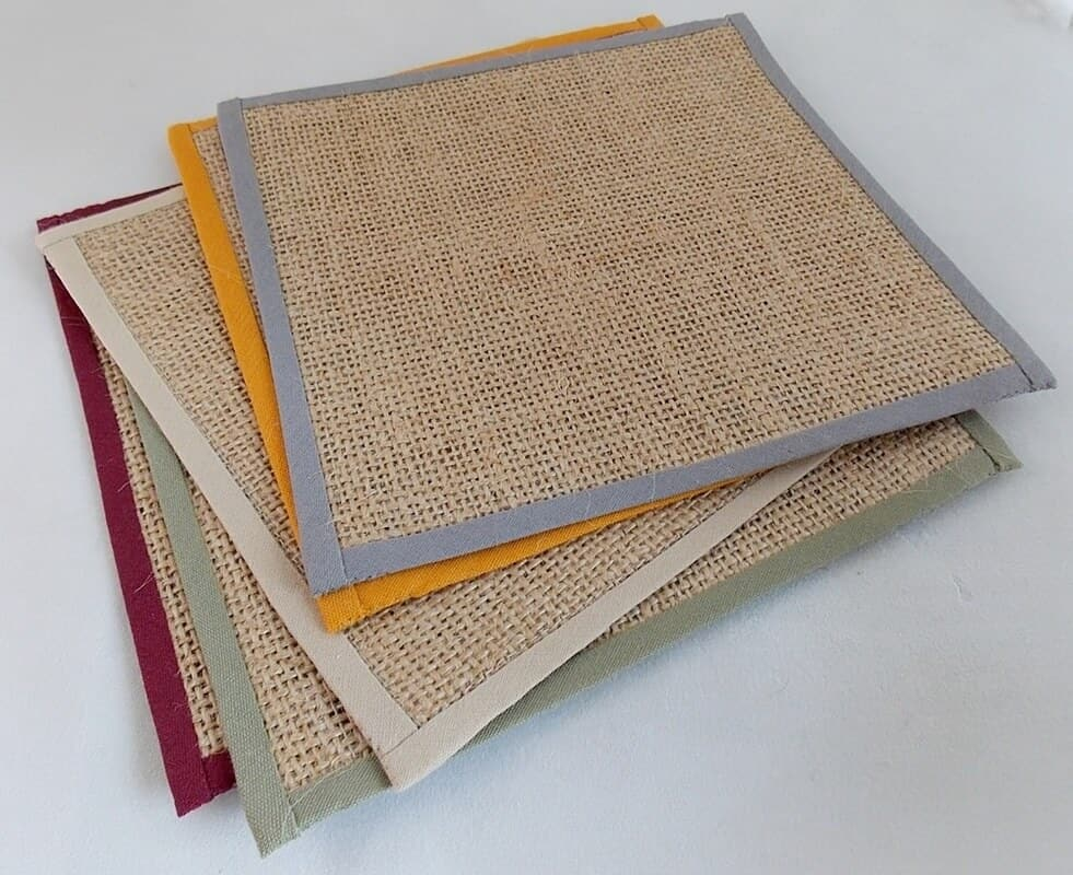 Hessian Rugs for Porch