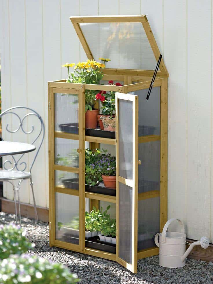 Mini Greenhouse Planters