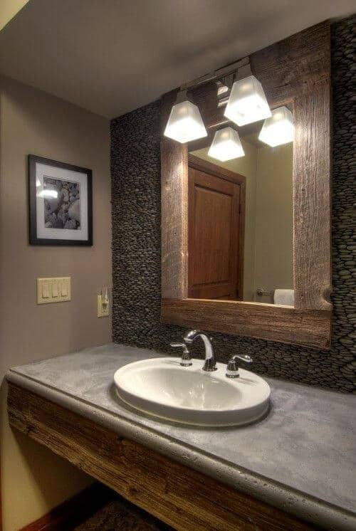 Mirrors Basement Bathroom Ideas