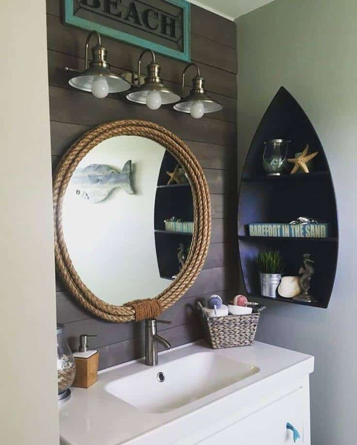 Model Boats bathroom nautical decor