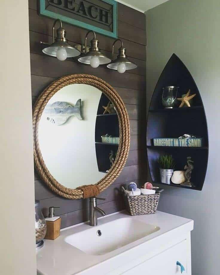 Model Boats bathroom nautical decor