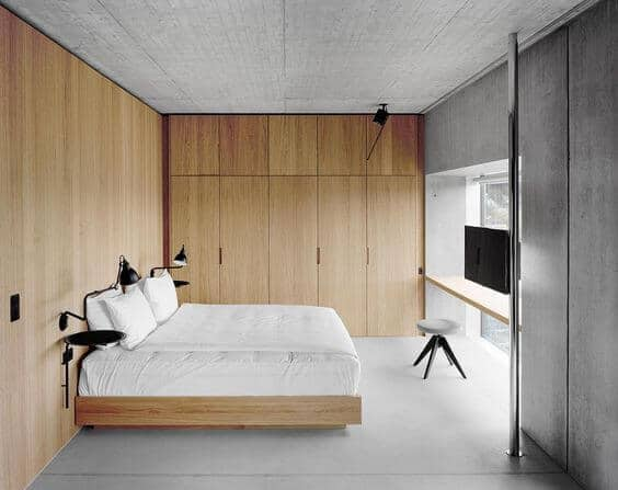 Natural Lighting Architecture Bedroom Idea
