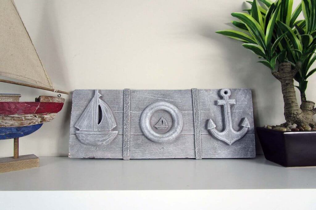 Odd Shaped Stones Nautical Decor