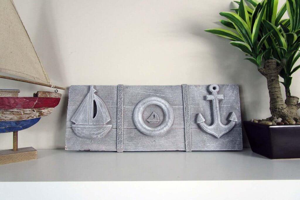 Odd Shaped Stones Nautical Decor