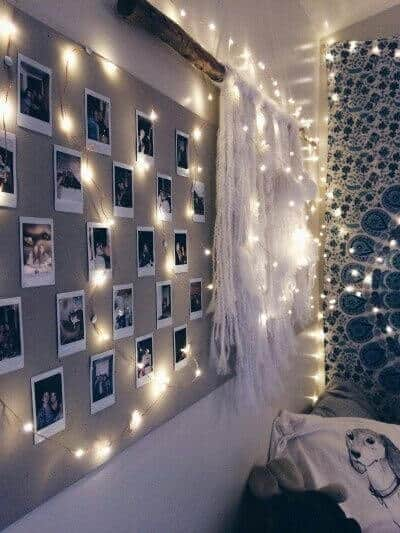 Polaroid pictures for Teens bedroom