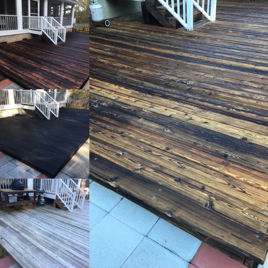 Reclaimed Wooden Floor for Porch