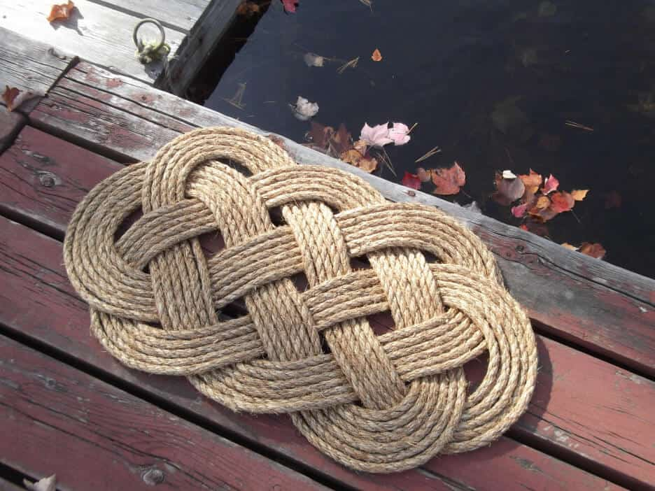 Rope Floor Mats Ideas for Porch