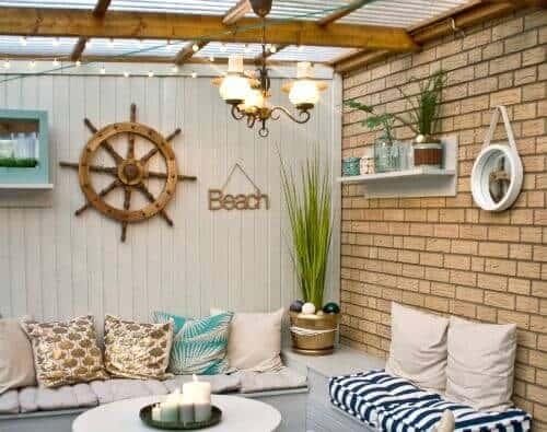 Seaside Theme porch ideas