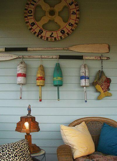 Wooden Oars porch