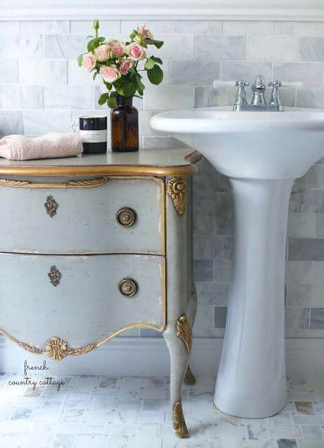 chic furniture for bathroom