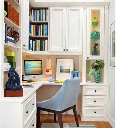 corner office design ideas