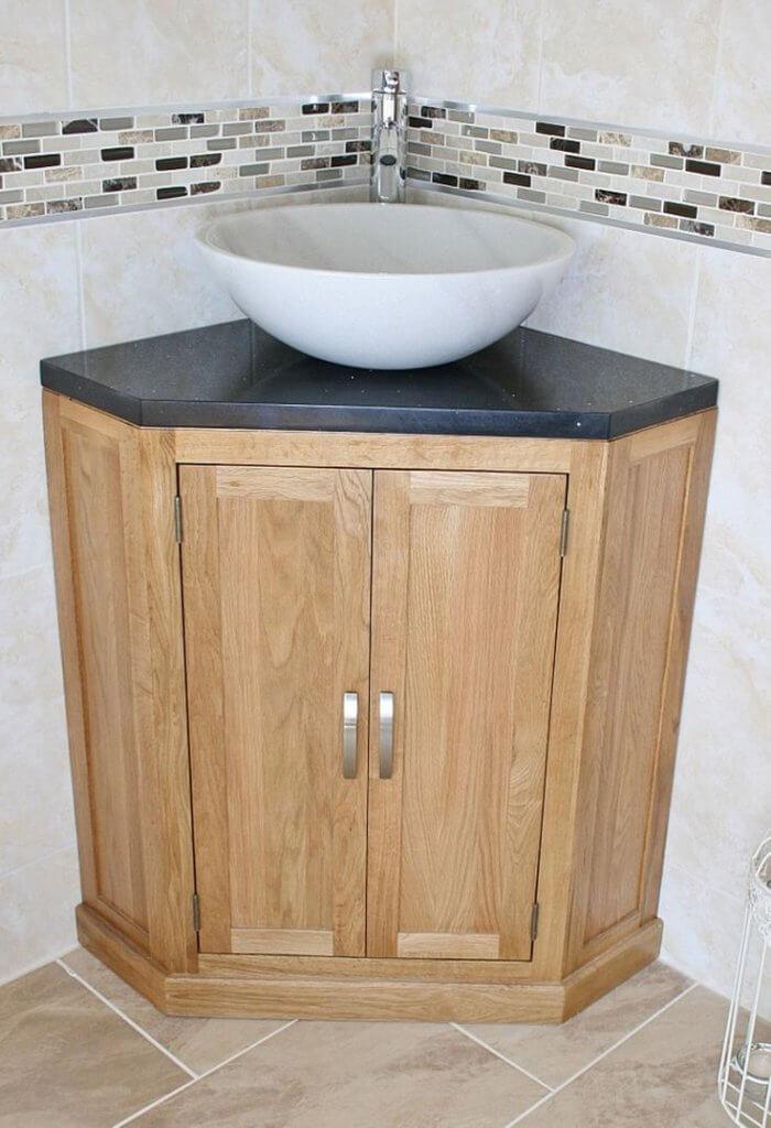 corner sink bathroom ideas