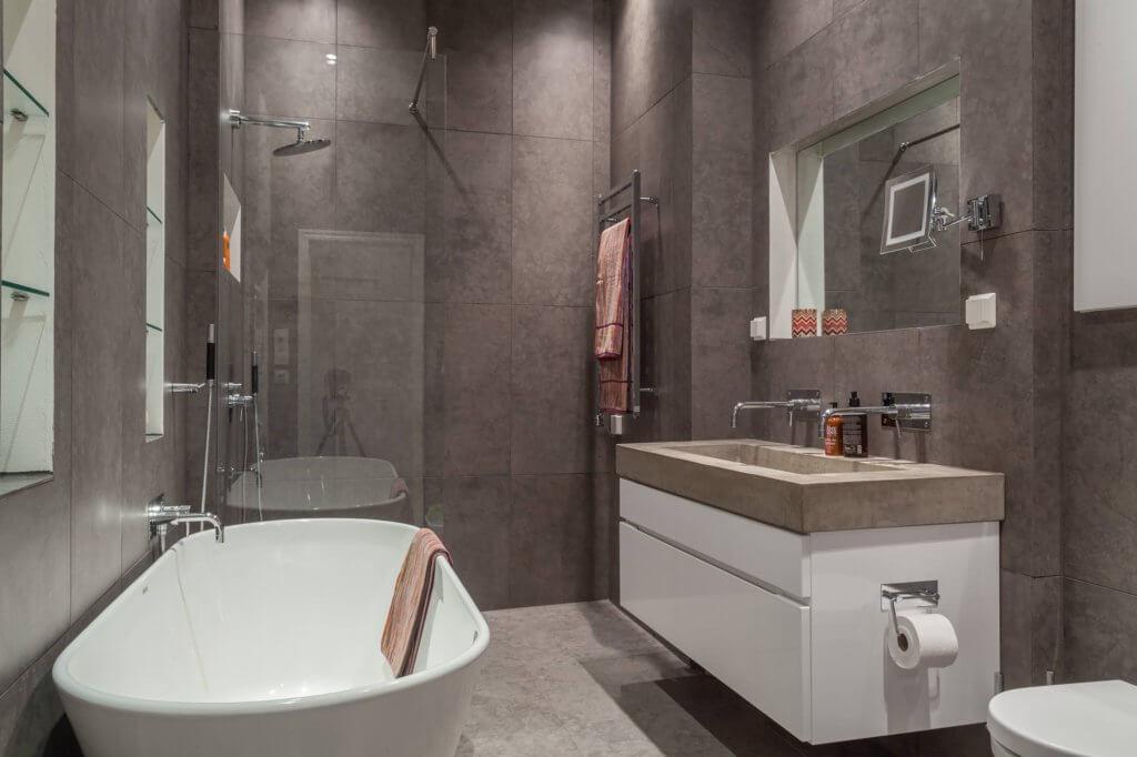 scandinavian Bathroom kitchen decor