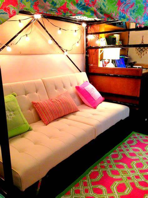 sofa bed Teen Room decor ideas