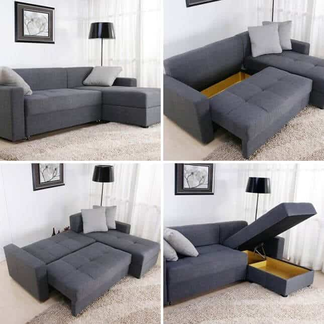 storage sofas for small spaces