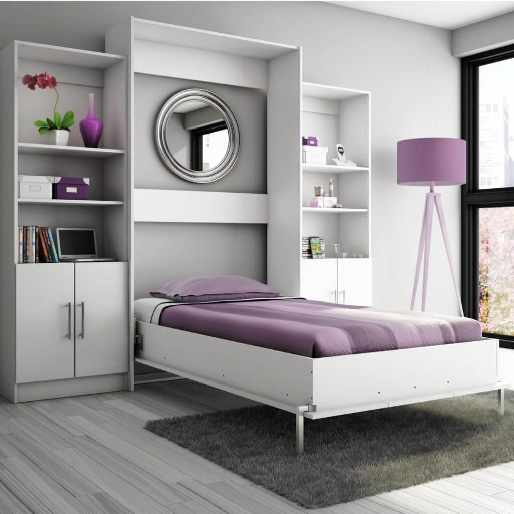wall beds ideas for apartment