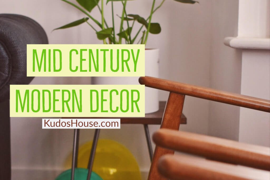 Mid Century Modern Decor