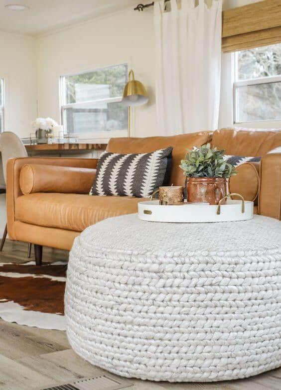 Poufs for living room