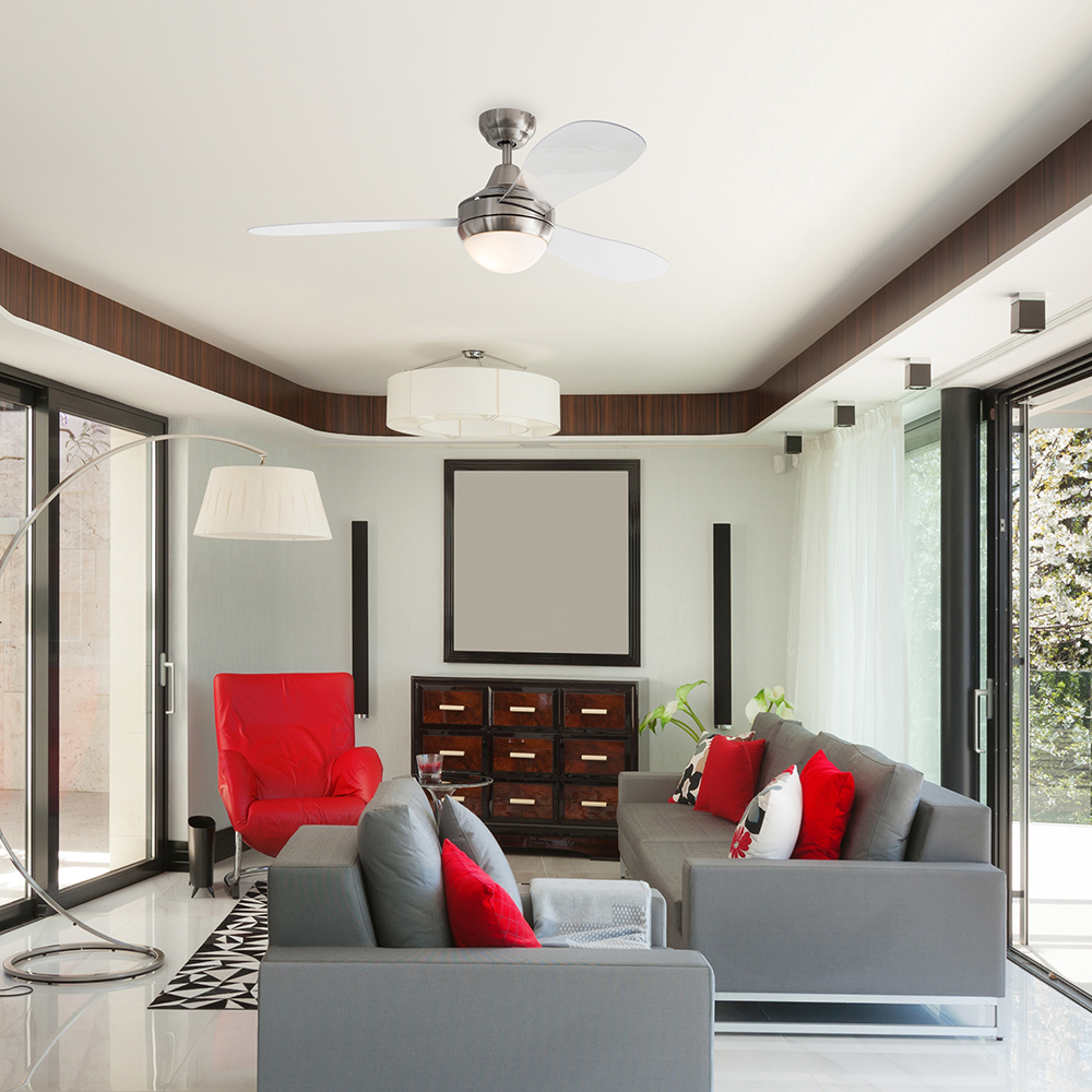 Modern Ceiling Fans - 27 Cool Ideas to Air Blast Your House