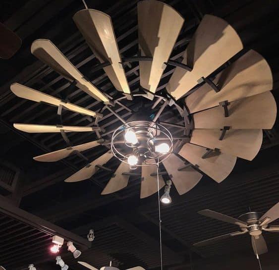 Huge Modern Ceiling Fan