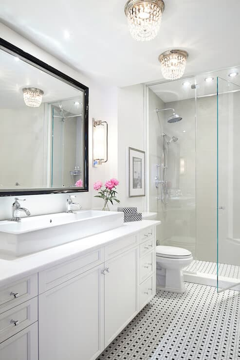 flush-mount-bathroom-lighting-
