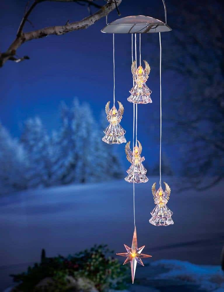Christmas Angels wind chime