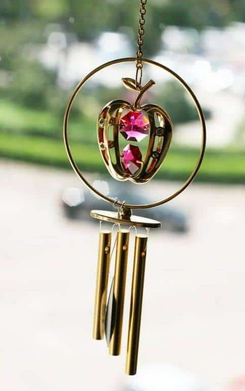 apple wind chime
