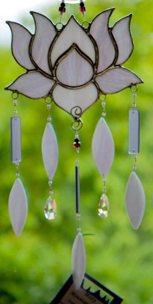 spring flowers wind chimes