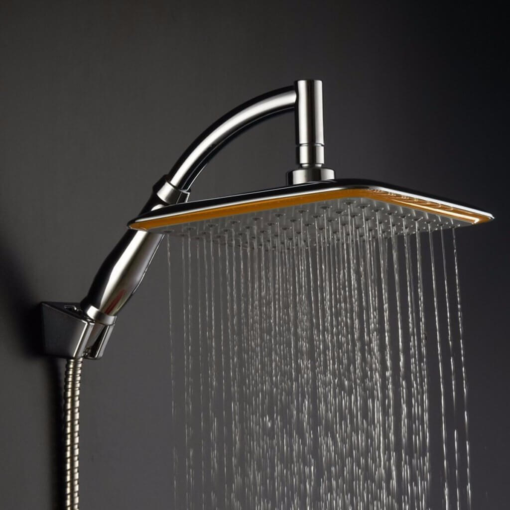 square showerhead