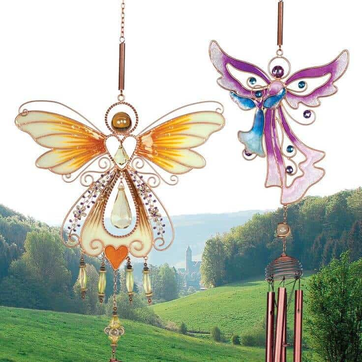 summer angel wind chime