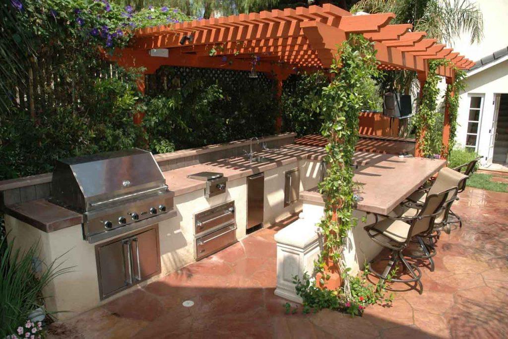 Alfresco Kitchen Design