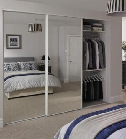 Closet With Mirror