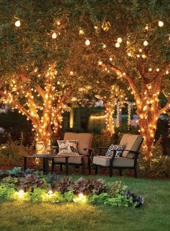 Night Lights For Garden