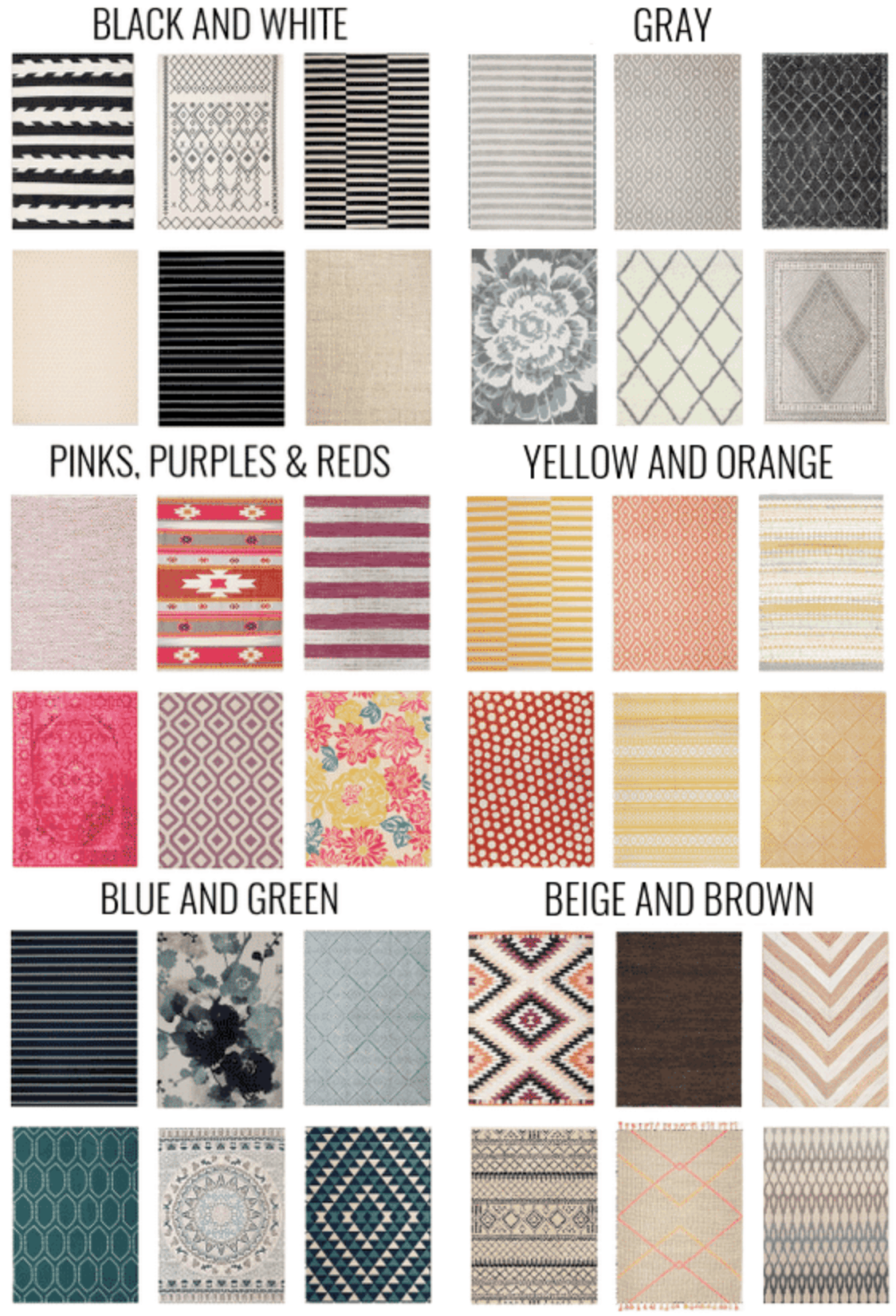 Rugs Color Ideas