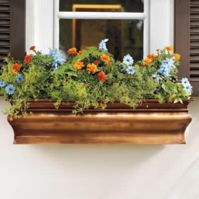 Small Kitchen Window Flower Box