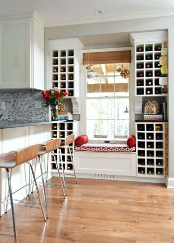 Window Wine Rack
