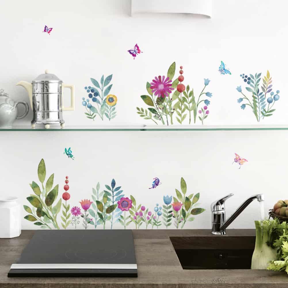 Floral Walls Home